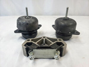 Engine Front Right Front Left Trans Mount Set Of 3pcs For Ford Mustang 3 7l