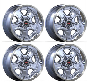 17 Cutlass Wheels Ssii Wheel Set Of 4 17 X 9 Cast Aluminum With 5 125 Bs