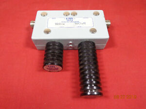 Emr Corp Vhf Radio Repeater Band Pass Cavity Dual Rf Isolator 8450 34 151 1375