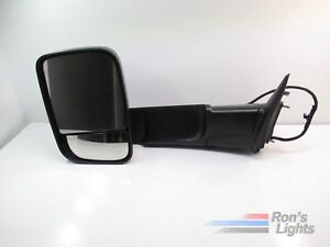 2013 2016 Dodge Ram 1500 Heated Tow Mirror Oem Lh Driver Pre Owned
