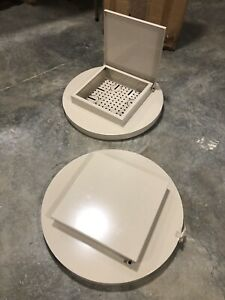 Set Of 2 Wvo Drum Lids For Filtered Waste Vegetable Oil Collection For Biodiesel
