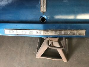 1966 Oldsmobile F 85 Only Trunk Lid Molding Very Rare Short Molding