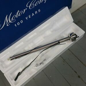 1941 1959 Ford Truck Polished Stainless Steering Column No Key Col Trans New