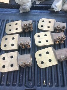 Anderson Terminal Hdsf 20 1 Stud To Flat Bronze Substation Connectors