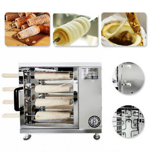 110v Electric Chimney Cake Oven Roll Grill Machine Restaurant Food Service