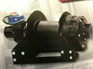Superwinch 45 000 Lbs Line Pull Hydraulic Winch P N 654001 H45p Brand New