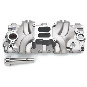 Edelbrock 7159 Performer Rpm Chevy 348 409 Intake Manifold Large Port