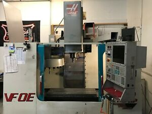 Used Haas Vf 0e Cnc Vertical Machining Center 30x16 Mill Ct40 4th Axis Ready 00