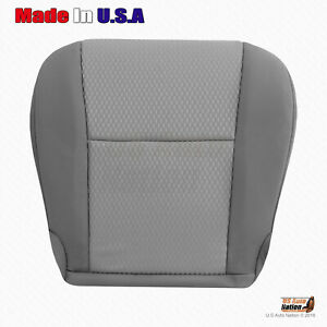 Passenger Bottom Gray Cloth Seat Cover For 2012 2013 2014 2015 Taoyota Tacoma