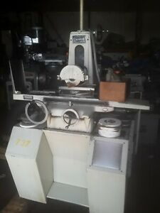 Harig Super 618 Hand Feed Precision Surface Grinder
