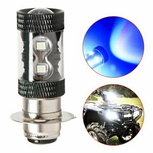 2pc 8000k Blue Led Driving Light Bulb For Yamaha Yfz450r Rhino 700 Raptor Yfm660