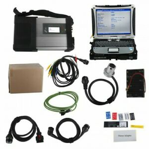 2020 12 Mb Sd C5 Connect Compact 5 Star Diagnosis Plus Cf19 I5 4gb Laptop Ssd