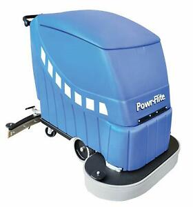 Powr flite Pas32 dxbc Self propelled Battery Powered Automatic Scrubber 225 Rpm