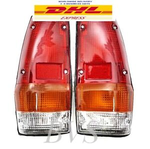 Lh Rh Tail Light Lamp For 79 82 Mitsubishi L200 Mighty Max Plymouth Dodge Ram