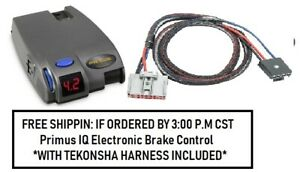 90160 Tekonsha Brake Control With Wiring Harness 3064 For 2019 2020 Gm