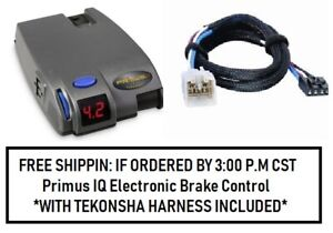90160 Tekonsha Brake Control With Wiring Harness 3040 For 2003 2015 Toyota