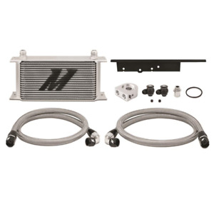 Mishimoto Oil Cooler Kit Silver Fits Nissan 350z 03 09 G35 03 07 Coupe Only