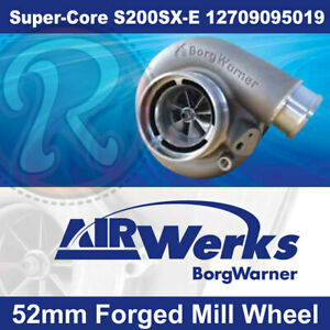 Borg Warner S200sx E Super Core Turbo 52mm Inducer Forged Mill Wheel Brand New