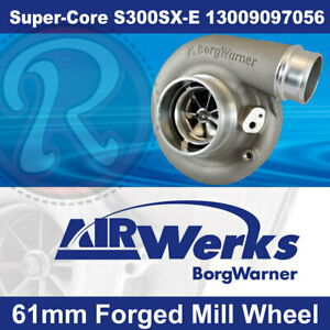 Borg Warner S300sx e Super core Turbo 61mm Inducer Forged Mill Wheel brand New