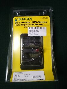 Blue Sea Systems Bussman 185 series High Amp Circuit Breaker 100amp C2