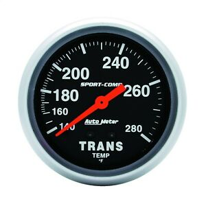 Autometer 3451 Sport comp Mechanical Transmission Temperature Gauge