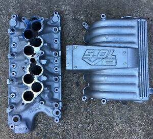Gt40 Intake 5 0l Upper And Lower Explorer Egr Mustang Cobra 302ci Saleen