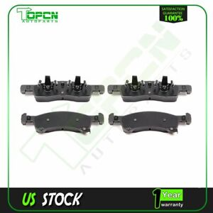 Front Ceramic Brake Discs Pads For 2003 2006 Ford Expedition Lincoln Navigator