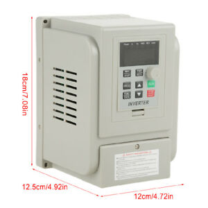 1 5kw 8a Ac220v Vfd Single phase Speed Control Variable Frequency Drive Inverter