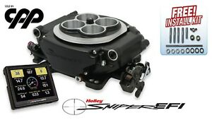 Holley Sniper Self Tuning Efi Fuel Injection Conversion Kit 650hp 550 511