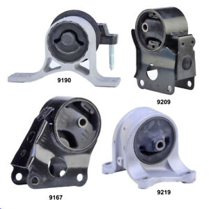 Engine Motor Transmission Mount Set 4pcs For Nissan Altima 2002 2006 2 5l