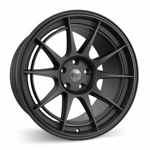 Esr Sr13 18x10 5 15 5x114 3 Matte Black Concave Set Of 4
