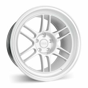 Esr Sr11 18x9 5 35 18x10 5 22 5x114 3 Silver Staggered Set Of 4