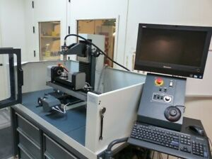 Wabeco V5 F1410lf 5 Axis High Speed Cnc Mill W 4th And 5th Axis Trunnion Table