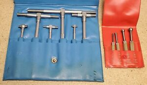 Starrett No 829 Small Hole Gages With Yuasa Telescoping Gages 5 16 To 6