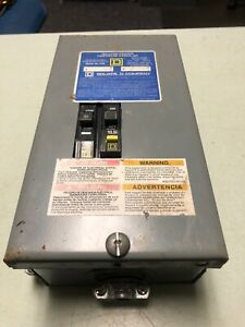 Square D Qo Load Center 2 Pole Circuit Breaker Box Qo2 4l70s Warranty Free Ship