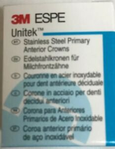 5 X 3m Espe Unitek Stainless Steel Primary Anterior Crowns Any Size And Quantity