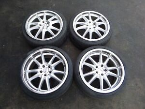 Mercedes 19 Oz Staggered Wheels C Clk E S Sl Slk Class 5 X 112