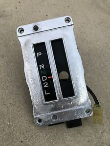 79 83 Toyota Pickup Truck Automatic Floor Shifter Assembly Shift Column Bezel