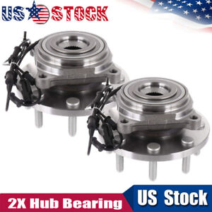 2 Wheel Bearing Hub Assembly 515148 Fit For Front 4x4 Ram 2500 3500 2012 2014