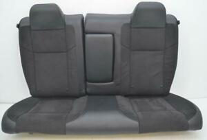 2013 2014 2015 2016 2017 2018 Dodge Challenger R t Oem Leather Suede Rear Seats