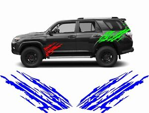 Off Road 4x4 Mud Decal Sticker Garage Suv Truck Pickup Van Rv Trailer Wall Side