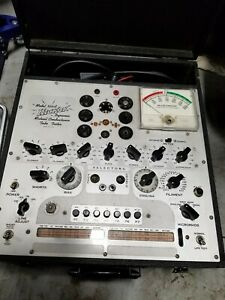 Vintage Hickok Dynamic Mutual Conductance Tube Tester 533a