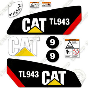 Caterpillar Tl943 Telescopic Forklift Decal Kit Equipment Decals Tl 943 Decals