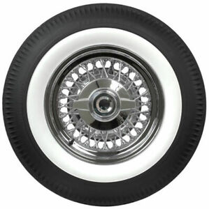 Oldtimer 15 Wheel White Wall 2 2 Set Tyre Insert Trim Baby Moon Dog Dish Hubcap
