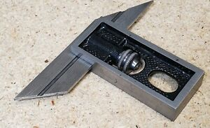 Starrett Double Square With A Octagon And Hexagon Blade