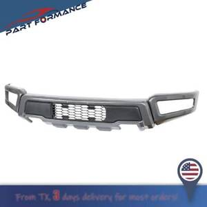 Gray Raptor Style Steel Front Bumper Assembly Kit For F 150 2018 2019 2020