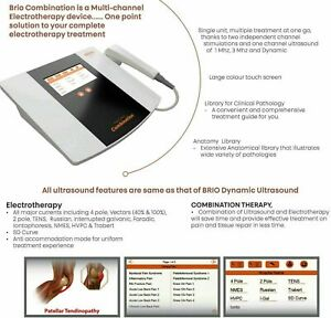 Advanced Electrotherapy Combination Ultrasound Therapy Combo Machine