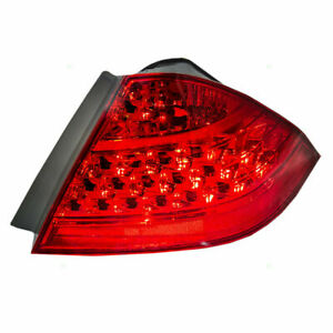 For Honda Accord Sedan 2006 2007 Tail Lamp w o Led Socket Right Passenger Side