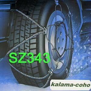 Shur Grip Cable Tire Snow Z Chains Sz343