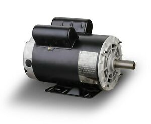 5hp Spl 3450rpm Air Compressor Electric Motor 230volt 1 Phase 5 8 Shaft b385